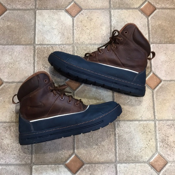43ca6468823 Men's Nike woodside Duck snow hunting boots 8